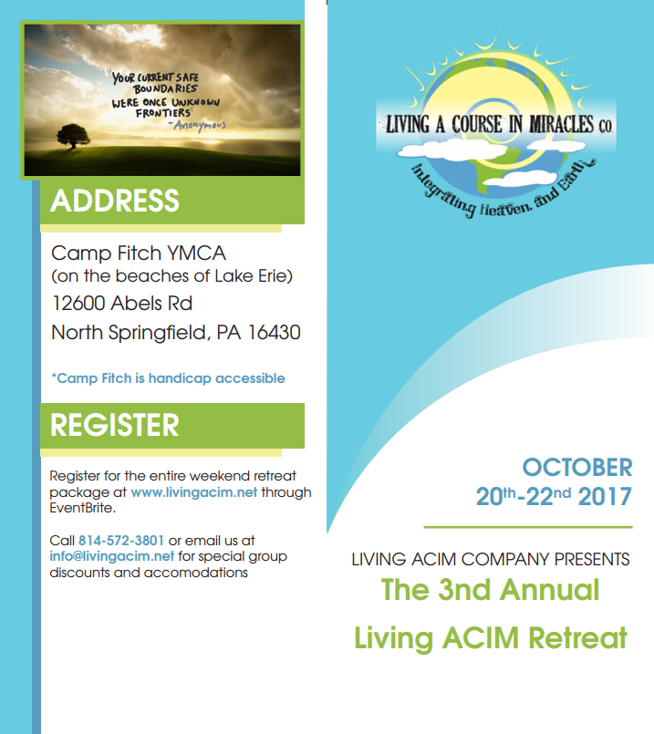 living acim retreat 2017