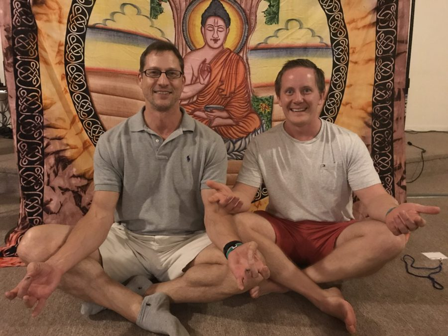 Jamie and I at Awakening to One Mind retreat 2018